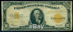 $10.00 Gold Certificate, 1922, Fr. #1173, Fine+