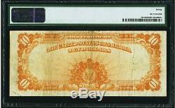 $10 1922 Fr# 1173 GOLD CERTIFICATE PMG Very Fine 30 VF30