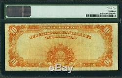 $10 1922 Fr# 1173 GOLD CERTIFICATE STAR PMG Very Fine 25 VF25