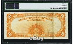 $10 1922 Fr# 1173 Large S/N GOLD CERTIFICATE PMG Choice Very Fine 35