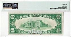 $10 1928 GOLD CERTIFICATE SERIES 1928 FR2400 PMG 35 Choice Very Fine