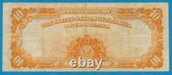 $10. FR. 1173-a 1922 GOLD SEAL GOLD CERTIFICATE CHOICE VERY FINE