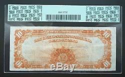 $10 Series 1922 Gold Certificate / Speelman & White / Pcgs 25 Very Fine