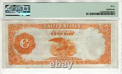 1882 $100 Gold Certificate Note Currency Fr. 1214 Teehee Burke Pmg Very Fine 30