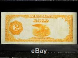1882 $100 Gold Certificate Vf Net Very Fine L@@k Now 886 Trusted