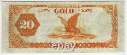 1882 $20 Gold Certificate Note Fr. 1178 Lyons / Roberts Pmg Very Fine Vf 30 (357)