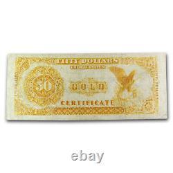 1882 $50 Gold Certificate Fine SKU#220173