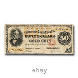 1882 $50 Gold Certificate Fine SKU#221925