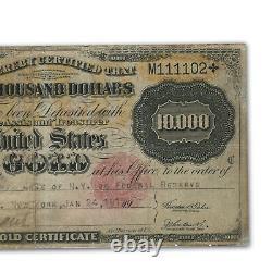 1900 $10,000 Gold Certificate Fine (Fr#1225H) Details SKU#132147