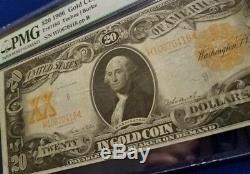 1906 $20.00 GOLD CERTIFICATE PMG VERY FINE 30 FR 1186 #H10670418 pp B