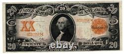 1906 $20 Gold Certificate, 30 Very Fine Condition
