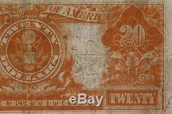 1906 $20 Gold Certificate Fr#1185 Pmg Certified Very Fine 20 (707)