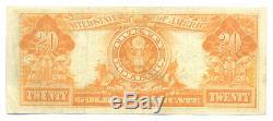 1906 $20 Twenty Dollar Gold Certificate Note Choice Very Fine VF. + Condition