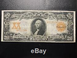 1906 $20 Twenty Dollar Gold Seal Certificate Note FR. 1182 Extra Fine XF