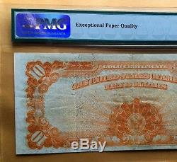 1907 $10 GOLD CERTIFICATE PMG40 EXTREMELY FINE LARGE Fr#1172 NOTE EPQ