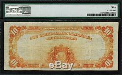 1907 $10 Gold Certificate FR-1167 Graded PMG 30 Very Fine Vernon/Treat
