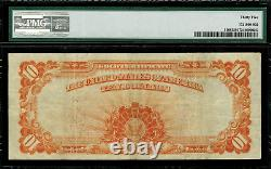 1907 $10 Gold Certificate FR-1168 Graded PMG 35 Choice Very Fine