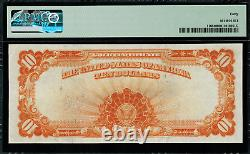 1907 $10 Gold Certificate FR-1168 Graded PMG 40 Extremely Fine