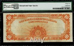 1907 $10 Gold Certificate FR-1172 Graded PMG 35 EPQ Choice Very Fine