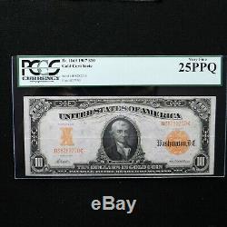 1907 $10 Gold Certificate, Fr # 1169, PCGS 25 PPQ Very Fine, Napier-McClung