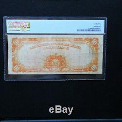 1907 $10 Gold Certificate, Fr # 1169, PMG 25 Very Fine (Napier-McClung)