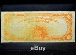 1907 $10 Gold Certificate Vf Very Fine United States L@@k Now 322 Trusted
