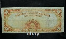 1907 $10 Gold Certificate Vf Very Fine X L@@k Now Scarce 767 Trusted