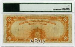 1907 Fr. 1171 $10 United States GOLD CERTIFICATE Note PMG Fine 15