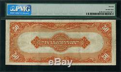 1913 $50 Gold Certificate FR-1198 Graded PMG 12 Fine Parker / Burke
