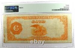1922 $100 Gold Certificate Note FR-1215 PMG 20 (Very Fine) Rare Bill