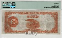 1922 $100 Gold Certificate Note Large Size Fr. 1215 Pmg Very Fine Vf 25 (800)
