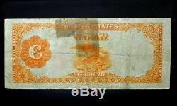 1922 $100 Gold Certificate Vf Very Fine Fr 1215 Net App Apparent Trusted