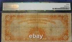 1922 $10.00 Gold Certificate Pmg Choice Fine 15 Fr 1173 Large #h34188529