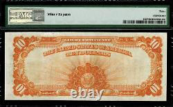 1922 $10 Gold Certificate FR-1173 Star Note Graded PMG 30 Comment Very Fine