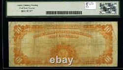 1922 $10 Gold Certificate Fr. 1173 Fine 15 #K19198726