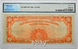 1922 $10 Gold Certificate Fr 1173 Large Serial # Pmg 35 Choice Very Fine Epq