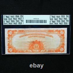 1922 $10 Gold Certificate, Fr # 1173, PCGS 30 PPQ Very Fine (Speelman-White)