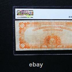 1922 $10 Gold Certificate, Fr # 1173, PMG 20 EPQ Very Fine (Speelman-White)