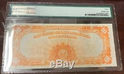 1922 $10 Gold Certificate Fr#1173 Speelman/White Large S/N PMG 30 Very Fine