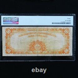 1922 $10 Gold Certificate Fr #1173a Small S/N, PMG 20 Very Fine (Speelman-White)