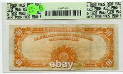 1922 $10 Gold Certificate Large Currency Note PCGS 20 Very Fine Fr 1173 BP961