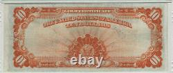 1922 $10 Gold Certificate Note Large S/n Fr. 1173 Pmg Very Fine Vf 30 (794)