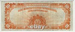 1922 $10 Gold Certificate Note Speelman / White Fr. 1173 Pmg Very Fine 25 (633)