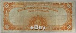 1922 $10 Gold Certificate PMG Very Fine 25 Large Note Currency