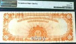 1922 $10 Gold Certificate Pmg40 Epq Extremely Fine Speelman/white Beautiful 3701