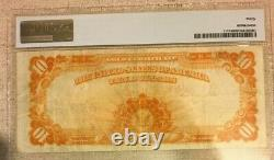 1922 $10 Gold Certificate Pmg 30 Very Fine Large S/n, Speelman/white 3680