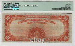 1922 $10 Gold Certificate Star Note Large S/n Fr. 1173 Pmg Very Fine 25 Epq304d