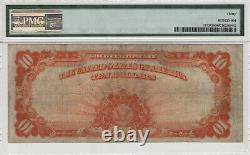 1922 $10 Gold Certificate Star Note Large S/n Fr. 1173 Pmg Very Fine 30 (479d)