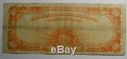 1922 $10 Gold Certificate Very Fine