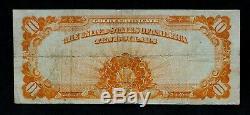 1922 $10 Gold Certificate Very Fine! -Speelman/White- 351K